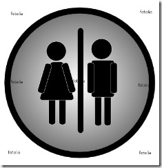 figure man and woman