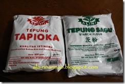tepung tapioka vs tepung sagu