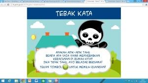 Tampilan menu game tebak kata (http://ik.pom.go.id/v2014/game-tebakkata.html)